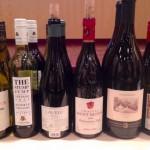 Några av kvällens viner