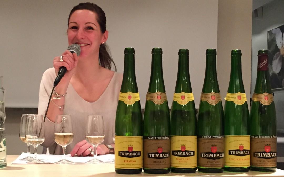 26:e mars – Alsaceviner av högsta kvalitet med med Anne Trimbach