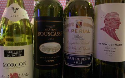 Hitta vinets smaktyper den 22 oktober